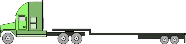 Step Deck Trailer